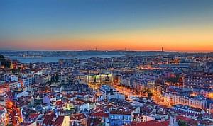 Lisabon letecky