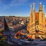 Barcelona letecky skoupáním vletovisku Sitges
