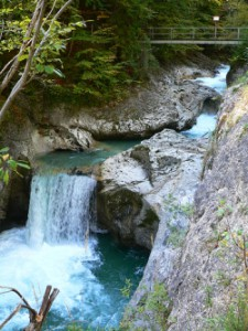 Duhové vodopády řeky Salzy