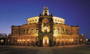 Drážďany snávštěvou operního představení Cosi fan tutte od W. A. Mozarta