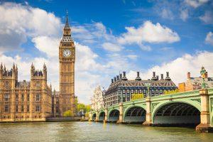 Londýn letecky zBrna