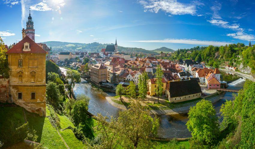 Český Krumlov | Divadlo sotáčivým hledištěm vzámeckém parku