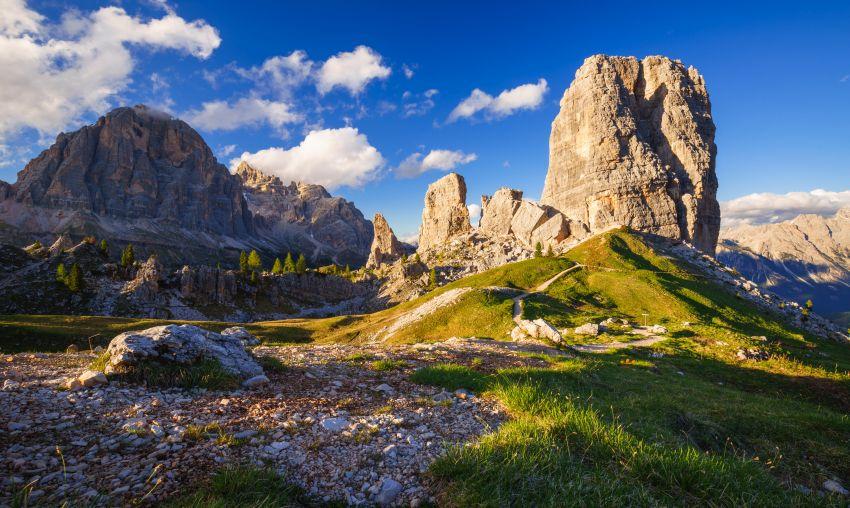 Kouzla italských Dolomit