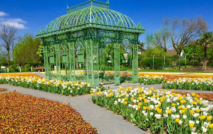 Císařské zahrady azoo vHirschtetten