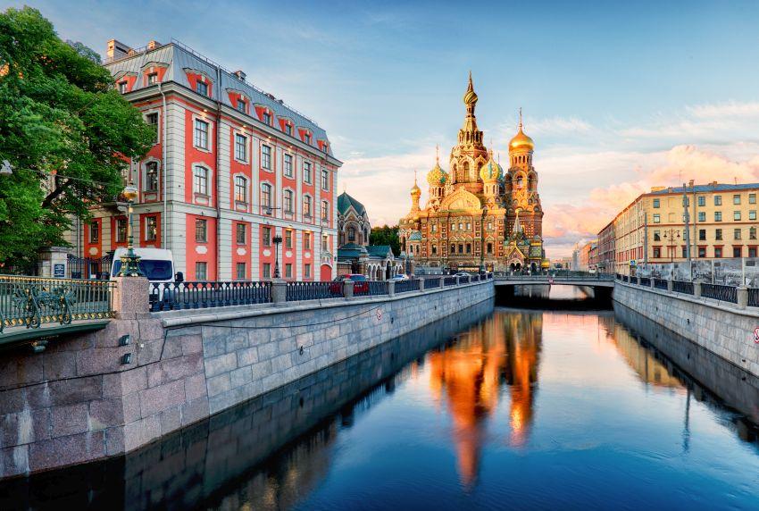Petrohrad letecky