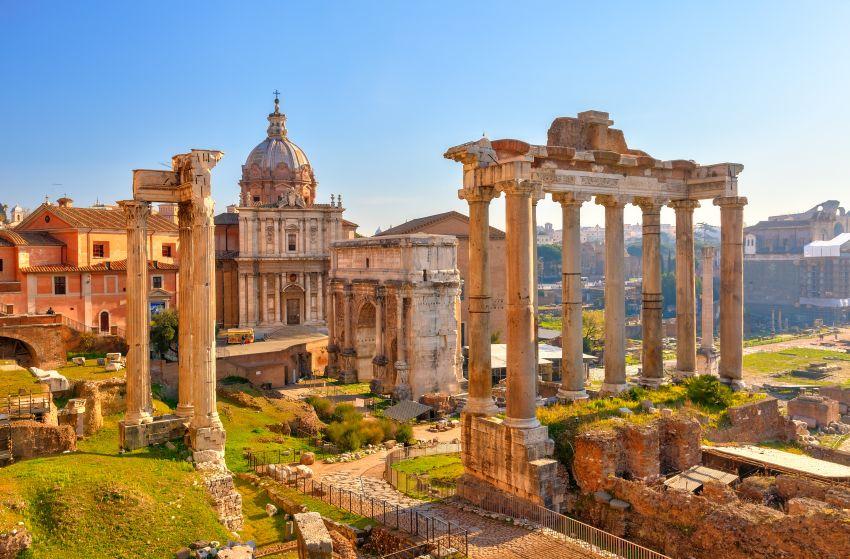 Řím aVatikán letecky