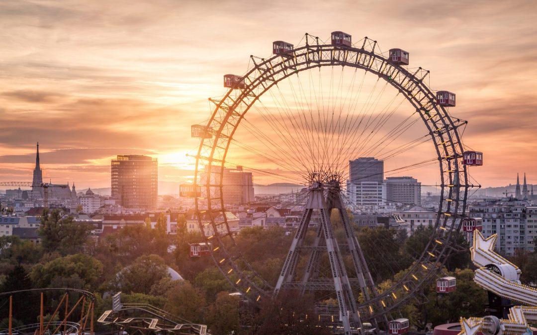 Kouzlo letních večerů ve Vídni
