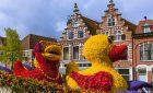 Belgie aNizozemsko | Květinové korzo akvětinový park Keukenhof