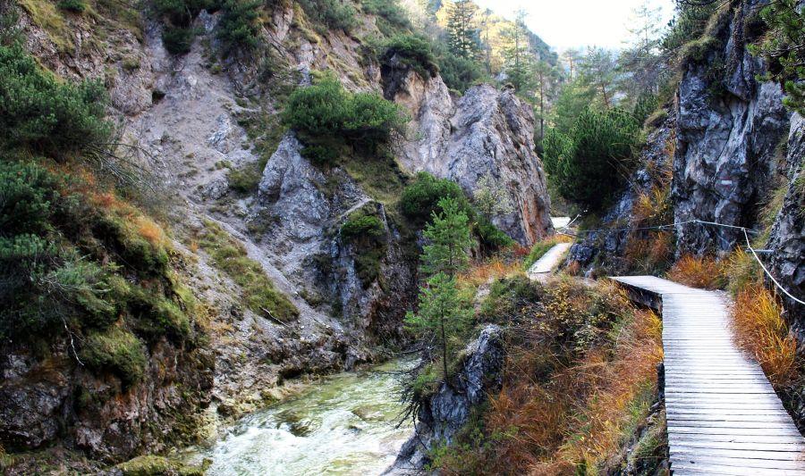 Ötscherský kaňon sromantickou jízdou vláčkem