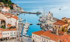 Port of Piran (Luka Piran), Slovenian Istria, Slovenia, Europe