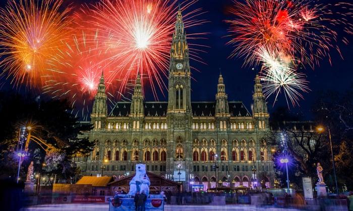 Silvestr vulicích Vídně