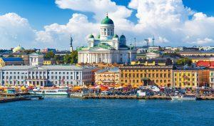 Poklady Finského zálivu letecky