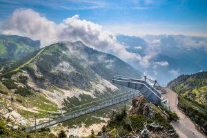 Hochkar | stezka Skytour avyhlídka Skywalk