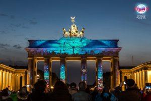 Berlín letecky zBrna