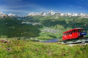Svatý Mořic amasiv Bernina