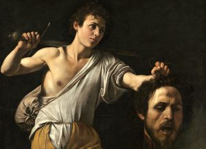 Výstava Caravaggio aBernini