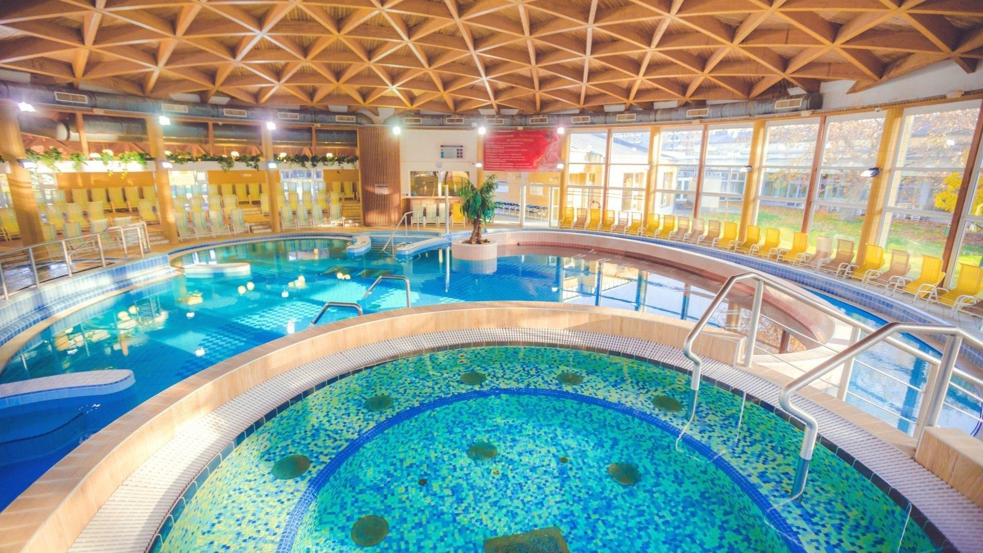 Luxusní relaxační pobyt vtermálních lázních Bükfürdő