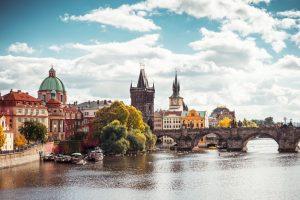 Praha soudobá, křesťanská ižidovská