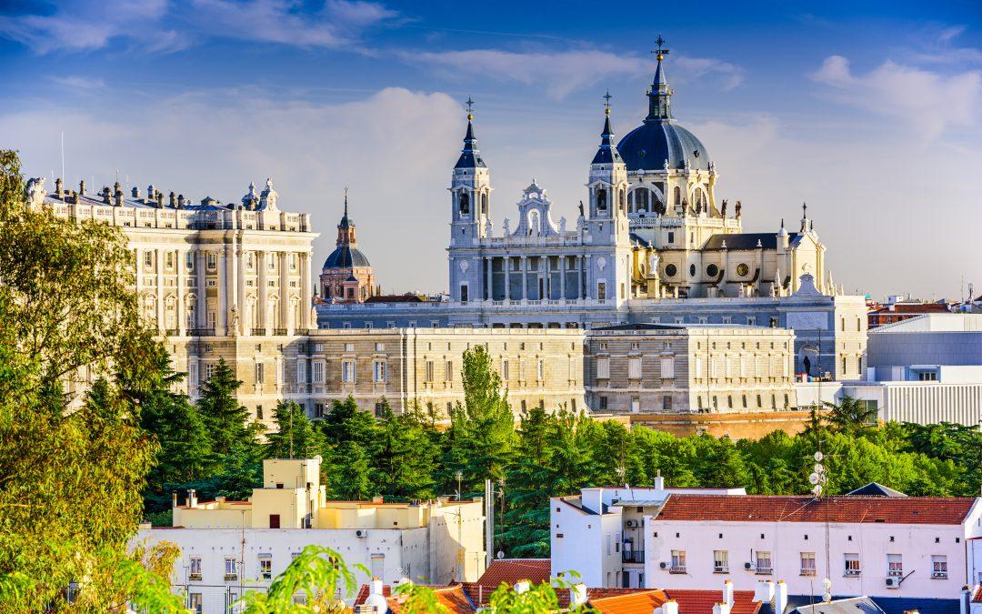 Madrid letecky