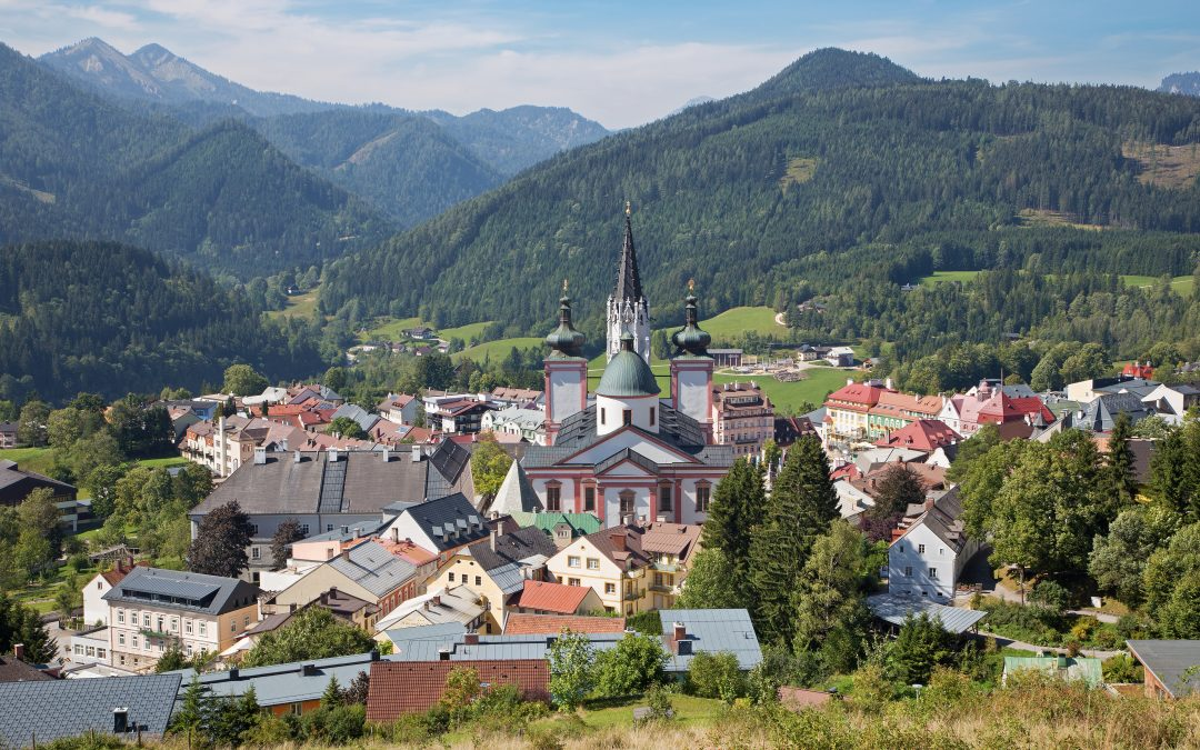 Mariazell avýstup na Burgeralpe