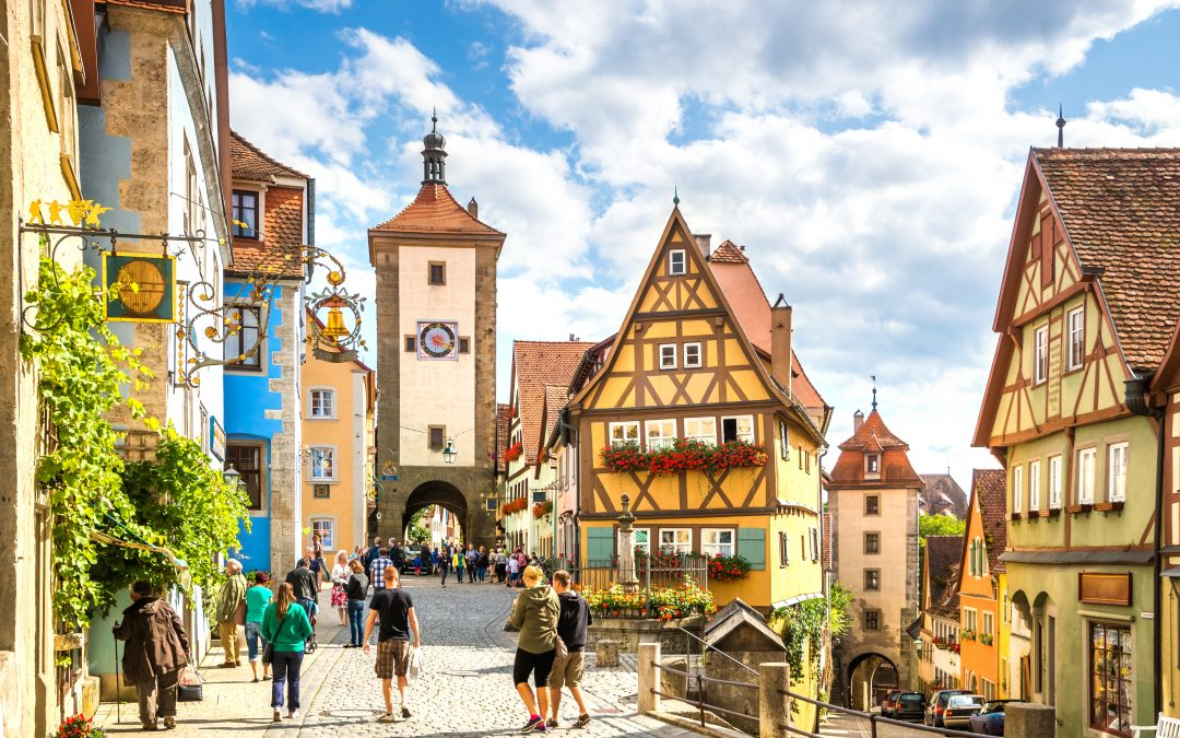 Romantická údolí Rýna aMosely – nejkrásnější místa Německa
